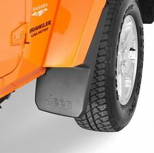 Jeep Wrangler JK 2007-2018 Mopar Splash Guards Mud Flaps - Front & Rear - OEM