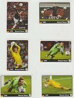 Panini Euro 2012 Poland Ukraine Manuel Neuer Heldentaten Coca Cola Sticker 1-6