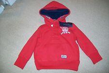 Tommy Hilfiger-boys red hoodie/jacket.4Y.Cotton blend.BNWT