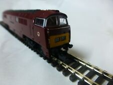 Dapol N gauge locomotive class 52 western consort in maroon DCC ready