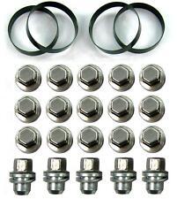 nut+spigot ring adaptorkit Range SPORT alloy wheels on LandRover Discovery 2 TD5
