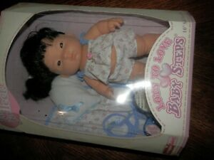 "Berenguer Lots To Love Baby Steps Lovable Rare Playful Patti 10"" New in Box"