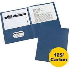 Avery 2-Pocket Folder Letter-size 20Sh/Pocket 125/Ct Dark Blue 47985Ct