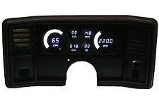 1978-1988 Monte Carlo DIGITAL DASH PANEL Gauges by Intellitronix  White LEDs!