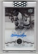 2018-19 UPPER DECK CLEAR CUT AUTOGRAPH AUTO SSP WILLIE O'REE - BRUINS HOF