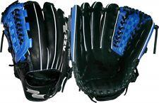 "Lefty SSK S16150GNBL 12"" Edge Professional Black/Blue Baseball Glove Inf/Pitcher"
