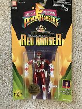 Power Rangers Special Edition Auto Morphin Red Metallized Ranger 1995