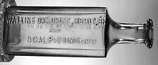 J.R. WATKINS DANDRUFF REMOVER & SCALP TONIC EMBOSSED BOTTLE