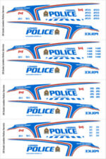 1/24 SCALE LONDON ONTARIO POLICE DECALS -  NEW RELEASE - MOTORMAX FORD UTILITY
