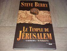 LE TEMPLE DE JÉRUSALEM / STEVE BERRY