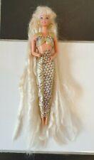 Vintage 1995 Jewel Hair Mermaid Barbie doll with clothing Mattel (2)