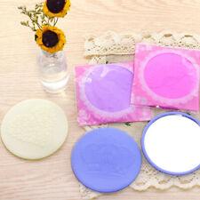 Portable Cute Round Mirror Plastic Makeup Pocket Handbag Mini Small MirrQA