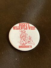 RARE Vintage 1979 University of Wisconsin Badgers Homecoming Football Pin/Button