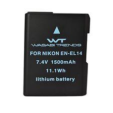 NX-ENEL14 WT Nixxell Battery for Nikon EN-EL14,Nikon P7000, P7100