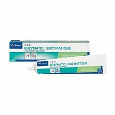 Virbac Cet Enzymatic Toothpaste| Eliminates Bad Breath by Removing Plaque and Ta