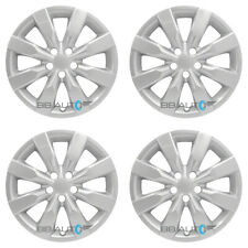 "4 NEW 16"" Silver Hubcaps Rim Wheel Covers for 2009-2019 TOYOTA COROLLA MATRIX"