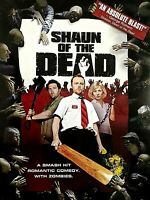 DVD - SHAUN OF THE DEAD-A SMASH HIT ROMANTIC COMEDY WITH ZOMBIES - RATED R