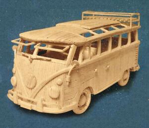 Campervan: MatchMaker Matchstick Model Craft Construction Kit