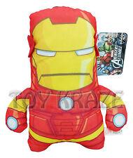 "Marvel Avengers Plush! Iron Man Red Gold Small Soft Square Flat Dolls 7"" Nwt"