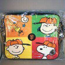 san francisco giants peanuts messenger bag
