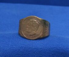 Yugoslavia Serbia Kingdom Patriotic Ring - King Alexander K. field relic