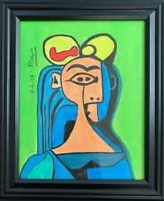 New ListingPablo Picasso Drawing on Vintage Paper Signed Rare