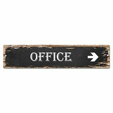 SP0015 Office Street Sign Bar Store Shop Pub Cafe Home Shabby Chic Decor