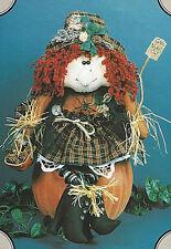 PATTERN Primitive Halloween Witch Doll w/ Black Boot UNCUT OOP The Buckeye Tree!