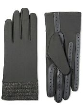 New Isotoner Signature Black Glitter Gloves (S/M)