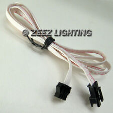 2PCS 1M/3FT Extension Wire LED Undercar Underbody Under Car Body Neon Lights Kit