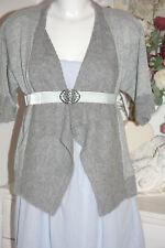 Noa Noa Wolle Strickjacke Strick -Tunika Rachel Knit Grey Melange size: S Neu