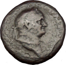 VESPASIAN 71AD Huge Sestertius Ancient Roman Coin ROMA Very rare  i33782