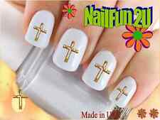 "RTG Set#555 IMAGE ""Jesus Cross single"" WaterSlide Decals Nail Art Transfers"