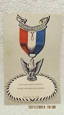 1962 Program, Buffalo Trace Council BSA Eagle Recognition Dinner Evansville IN