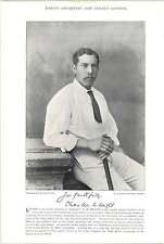 1895 Cricket Mordaunt, G J, Oxford: Wright, C W, Notts