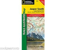 National Geographic Trails Illustrated Alberta/BC Canada Jasper South Map 902