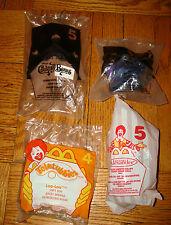 x4 Lot MCDONALDS Happy Meal Toys Kids MADAME ALEXANDER Teletubbies Furby Bears