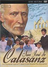 San Jose De Calasanz DVD NEW Serie Historia LA BIBLIA Brand New SEALED