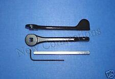 Pair of Fullex Metal Patio Door Handle Levers for Upvc or Ally Doors (PL01)