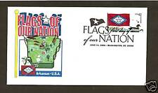 4278 * 2008 FLAGS OF OUR NATION SERIES * ARKANSAS STATE FLAG *