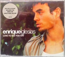 Enrique Iglesias - Love To See You Cry CD Single (CD 2001) CD 1 + Metro Mix
