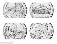 1999 - 2014 Complete Set State Quarters, Territories, Parks P D Plus Everglades