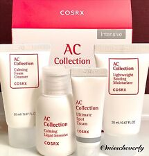 COSRX AC Collection INTENSIVE 4pc Trial KIT for Oily Skin w Ultimate SPOT CREAM