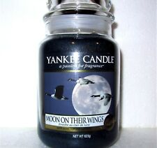 """Yankee Candle """"MOON ON THEIR WINGS""""~My Favorite Things ~ TAN LABEL ~ LARGE 22 oz"""