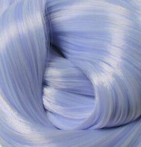 HEAVENLY IRIS Light Purple Synatra Fiber Doll Hair for Custom Reroots