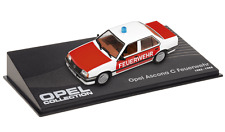 OPEL Ascona C Pompier - VOITURE MINIATURE COLLECTION - IXO 1/43 CAR AUTO-104
