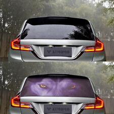 UTE Van Car Rear Window 3D Wolf Picture Graphic  Vinyl Sticker Decals Decor Film