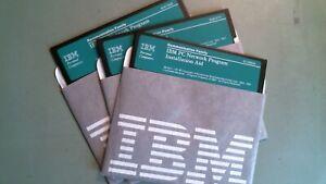 IBM Communication Family PC Network Program Ver 1.00 1984 85 - 5.25 floppy disks