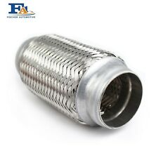 64mm X 100mm Weld On Exhaust Flexible Joint Repair Flexi Pipe Tube Flex Pipe