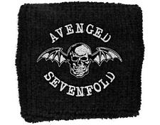 OFFICIAL LICENSED - AVENGED SEVENFOLD - DEATH BAT BANDEAU/BRACELET